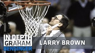 Larry Brown's career highlight: Assisting Dean Smith