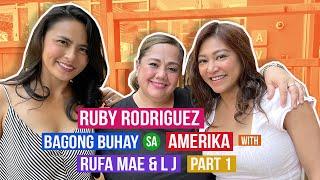 RUBY RODRIGUEZ Bagong Buhay sa Amerika with the Wander Mamas PART 1