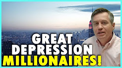 Great depression millionaires