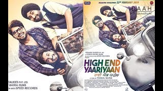 High End Yaariyaan(2019) Part1 FULL VIDEO  Ninja   Ranjit Bawa   New Punjabi Movies 2019