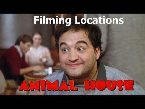 National Lampoon's Animal House 1978 ( FILMING LOCATION VIDEO) Landis John Belushi