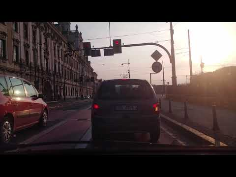 Wroclaw City Driver In Poland