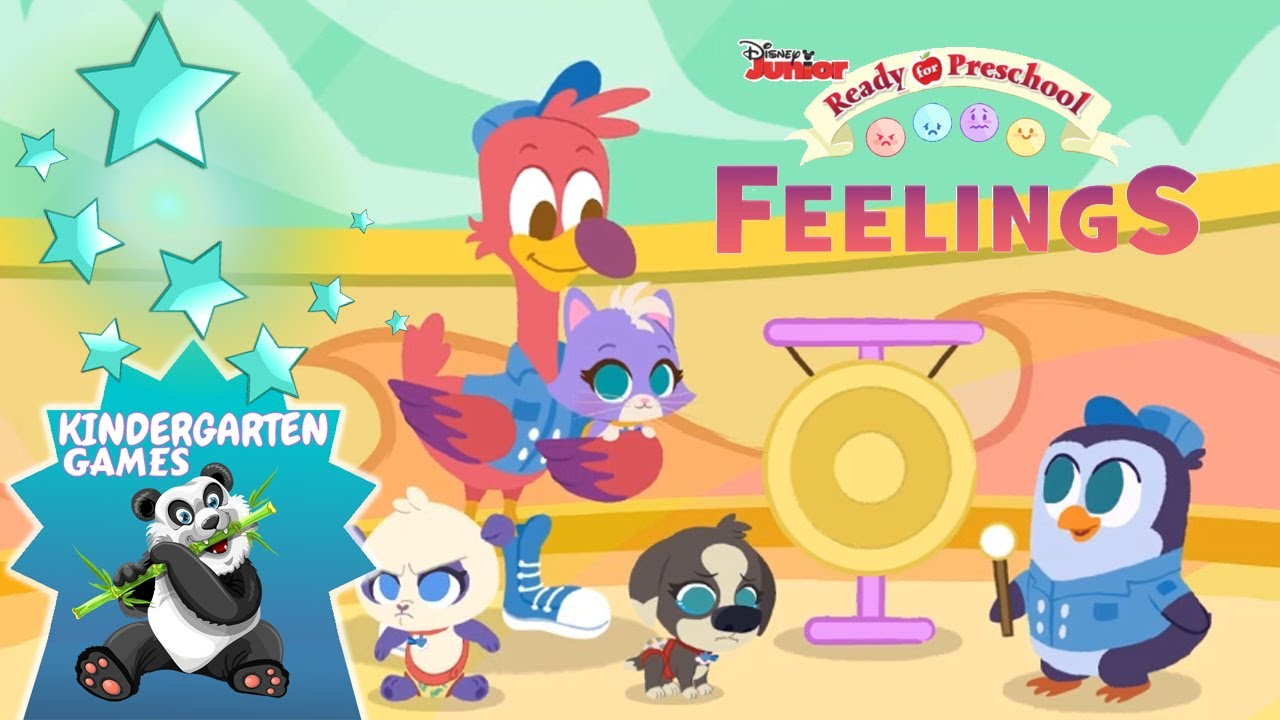 Disney Junior TOTS FEELINGS   Ready for Preschool Games