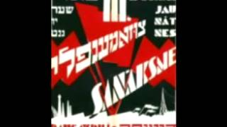 Di shvue - the anthem of The OLD Jewish Labour Bund