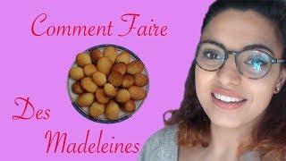 COMMENT Faire Des Madeleines 3 MINUTES