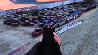 Gta v | 125 CAR EXPLOSION | BIGGEST EXPLOSION IN GTA V | epic.