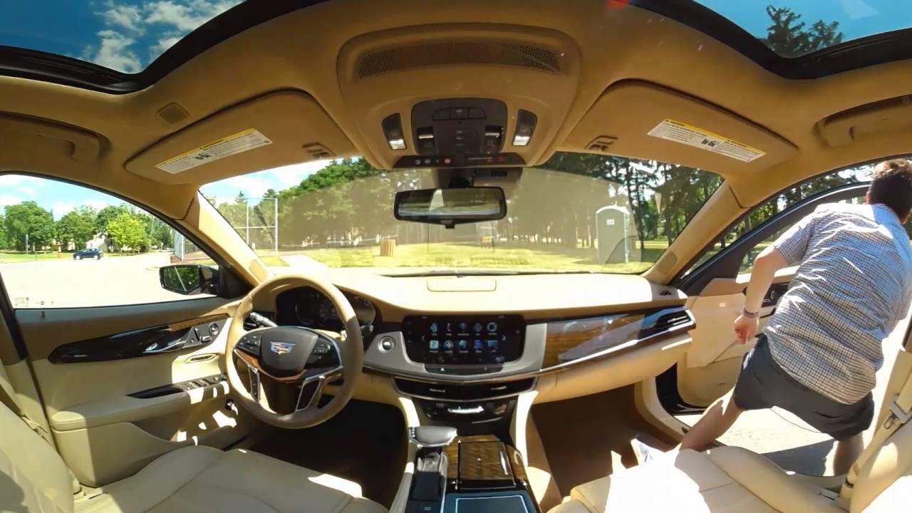 2016 Cadillac CT6 - Interior Walkthrough   Autoblog 360 ...