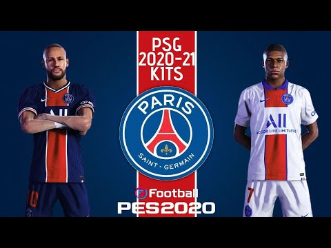 Psg 2020 21 Official Kits Pes 2020 Youtube