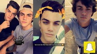 Dolan Twins snapchat story 19th -25th Sept 2016