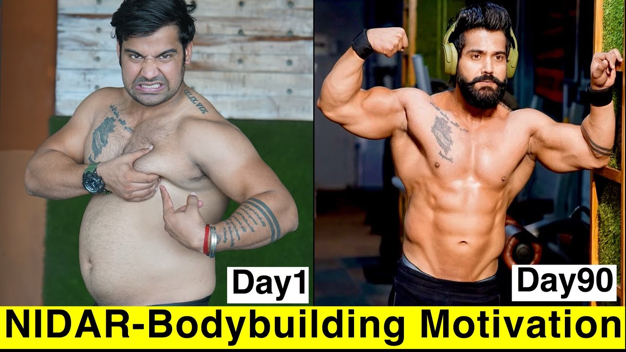 Download NIDAR- Ft. Dino James||GYM Motivation || 90 Days Transformation