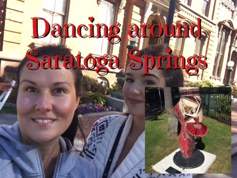 Dancing around Saratoga Springs - Virtual Vacation with TPDHW