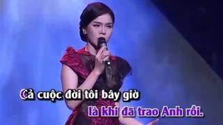 ĐOẠN TUYỆT - LỆ QUYÊN Karaoke Tone Nam