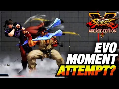 SFV AE * EVO Moment Attempt? / Sagat & Ryu Highlights