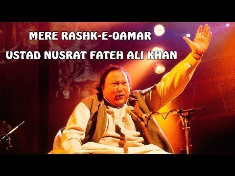 Mere Rashke Qamar - Nusrat Fateh Ali Khan Lyrics | Full Song