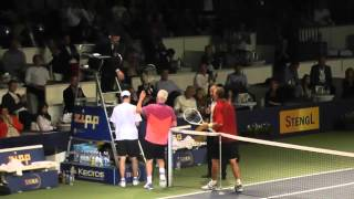 Tennis Champions 2014: John McEnroe vs Ivan Lendl in Bratislava, the end
