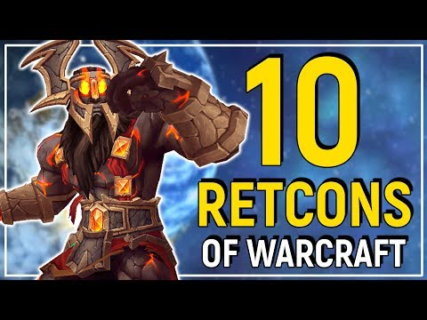 10 Retcons of World of Warcraft | Changed Characters, Plot Holes & More!