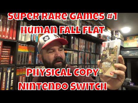 Super Rare Games Physical Copy Human:  Fall Flat Nintendo Switch