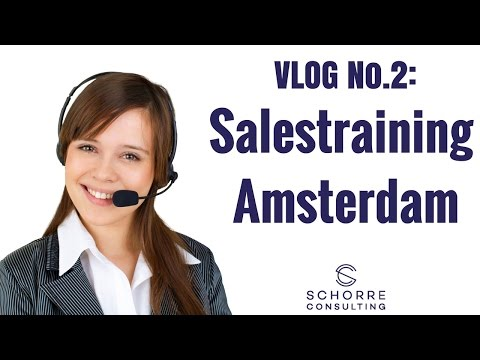 Sales & Leadership-Training in Amsterdam - VLOG No. 2