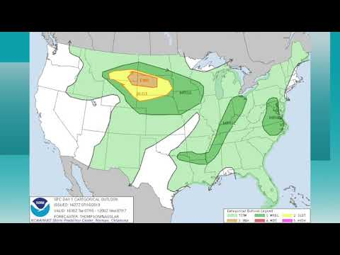 July 16, 2019 Weather Xtreme Video - Afternoon Edition