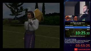 Little Britain: The Video Game any% speedrun in 21:27 minutes [World Record]