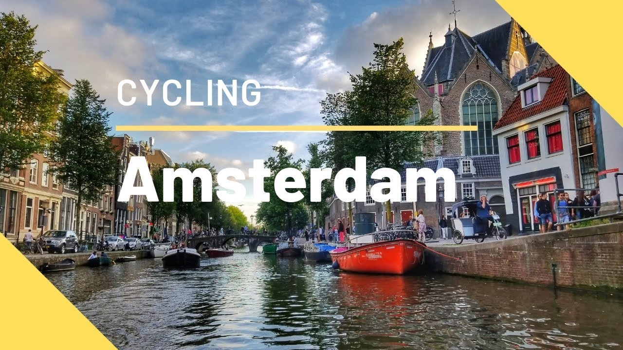 Amsterdam Cycling Timelapse