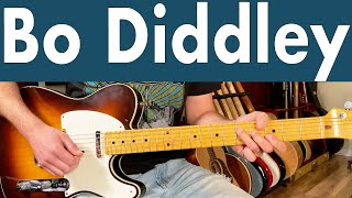 How To Play Bo Diddley   Bo Diddley Guitar Lesson + Tutorial + TABS