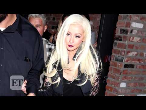 Christina Aguilera Looks Fashionably Chic During Rare Night Out In Los Angeles
