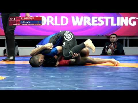 GOLD Men's GP No-Gi - 66 kg: V. BLUMENTAL (FRA) v. G. TEMEEV (RUS)