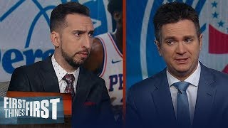 'Joel Embiid and Ben Simmons have a maturity problem' — Nick on 76ers | NBA | FIRST THINGS FIRST