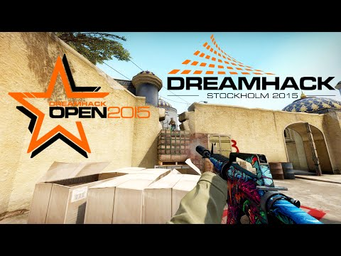 DreamHack Stockholm 2015 - CS:GO Highlights