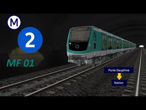 [OR-MSTS] Metro Parisien Ligne 2 Porte Dauphine - Nation en MF01