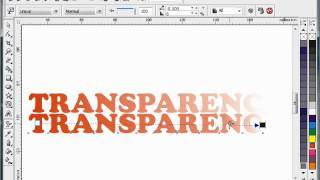 Interactive Transparency,Tutorial Corel Draw, Tips and Trick, Mastering Corel Draw