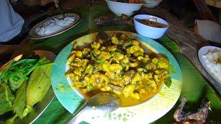 เมนูอาหารป่า น็อคด้วยสองซาว ผัดเผ็ดปลาไหลรับรองเด็ดอร่อยอย่างราชาอีกแล้ว