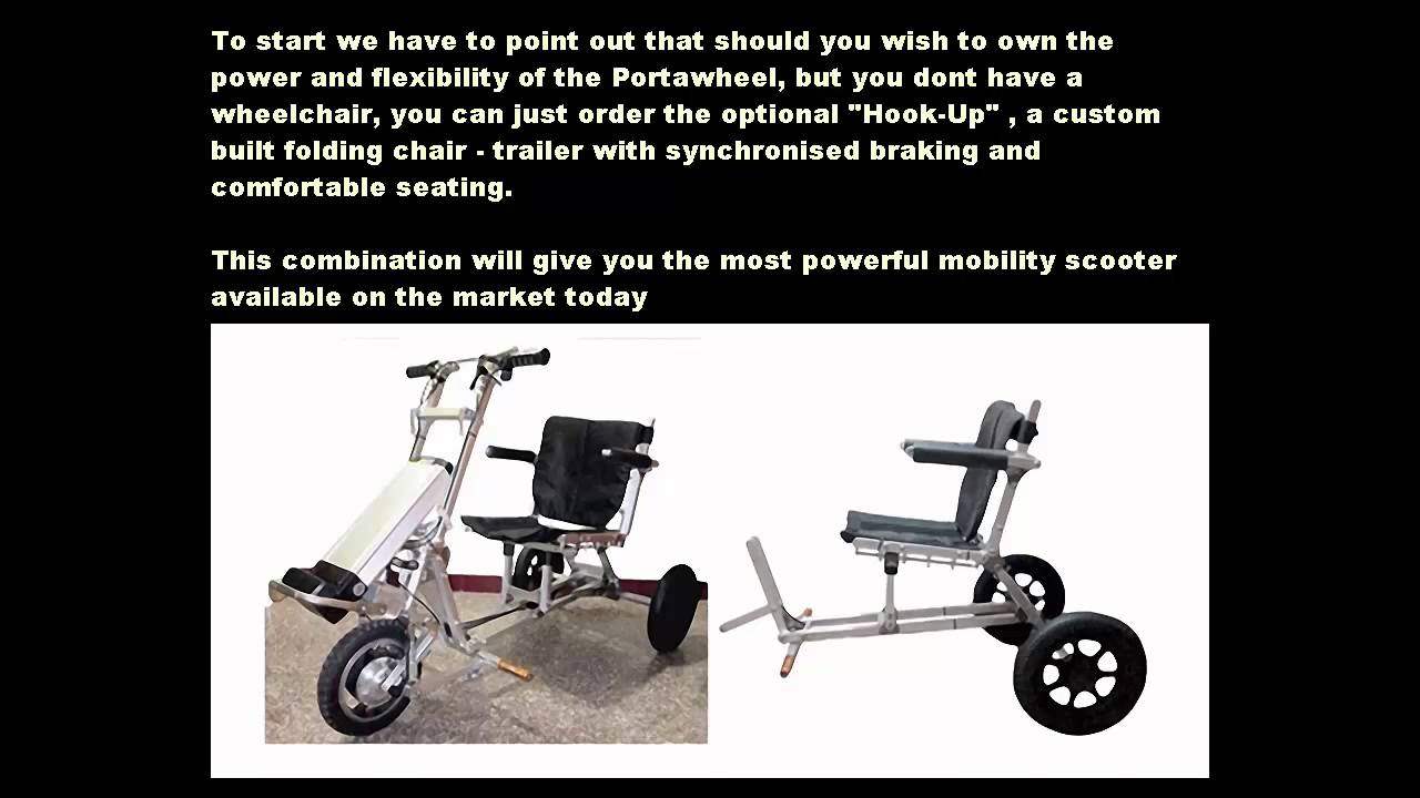 Mobility Scooters Motorized Wheelchair Power Assist