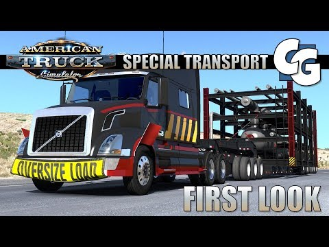 ATS - Special Transport DLC - First Look