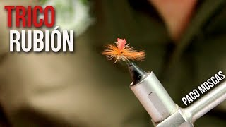 Tricóptero Rubión por Paco Moscas | Montajes The FlyCenter