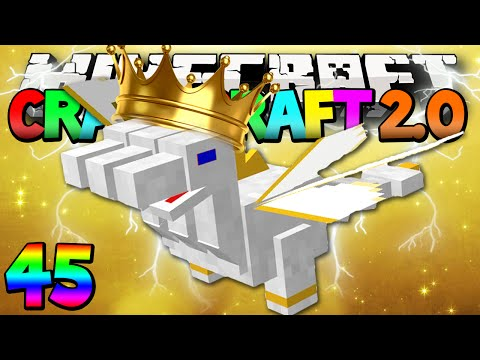 "Minecraft Mods Crazy Craft 2.0 ""The Mighty PRINCE!"" Modded Survival #45 w/Lachlan"