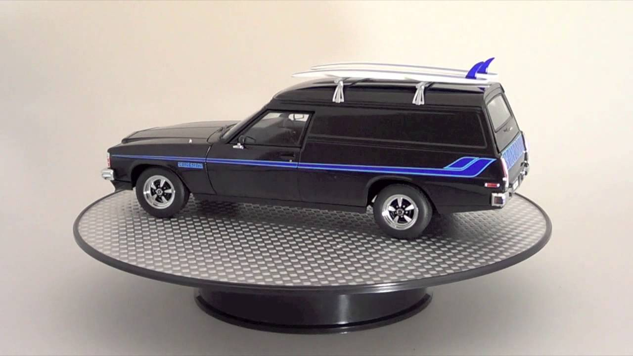 Holden Hz Sandman Panel Van 1 18 Diecast Model Youtube