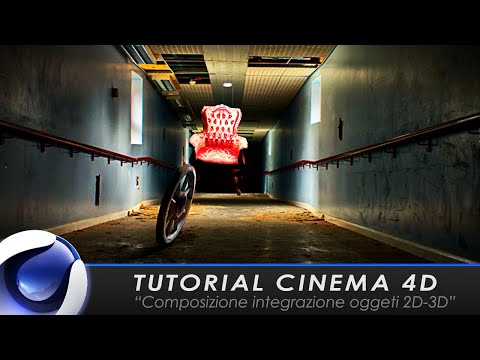 """TUTORIAL CINEMA 4D """"Composizione integrazione oggetti 3D"""""""