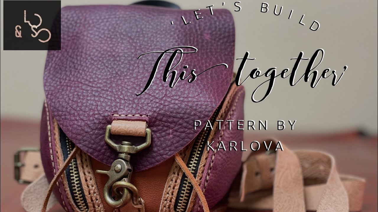 Let's Build The Puppy Mini Backpack   How To Make A Leather Backpack