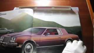 Brochure Buick (Full-line) 1979