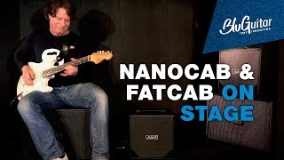 BluGuitar NANOCAB & FATCAB on stage