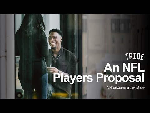 An NFL Players Heartwarming Proposal: A Love Story