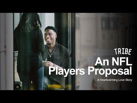 An NFL Players Heartwarming Proposal: A Love Story