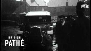 """""""Deutschland"""" In Thames Aka """"Deutschland"""" Opened To Public (1919)"""