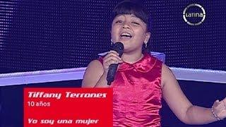 Tiffany Canta Yo Soy Una Mujer La Voz Kids Per� Semifinales Temporada 1