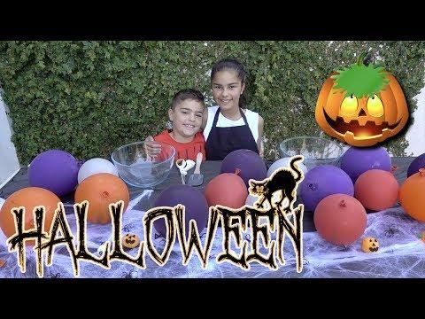 Download Youtube: Halloween Balloon Slime Challenge | Grace's Room
