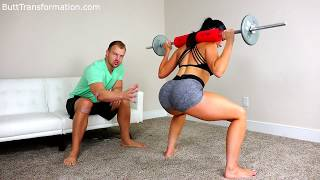 How to Get a BIGGER BUTT! Exercises for a Big Booty