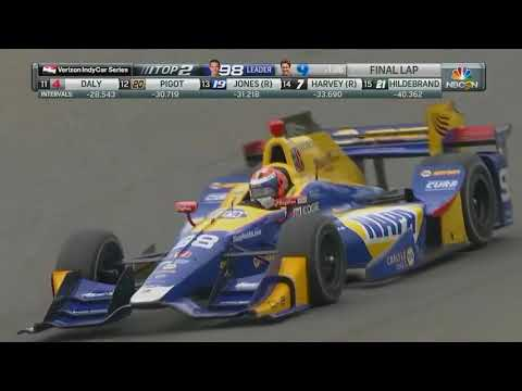 2017 IndyCar Grand Prix at the Glen - Alexander Rossi wins