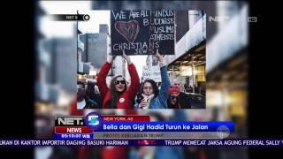 Video Bella dan Gigi Hadid Turun ke Jalan Protes Kebijakan Trump - NET5 download MP3, 3GP, MP4, WEBM, AVI, FLV Januari 2018
